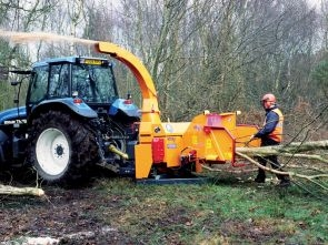 A141+Jensen+PTO+mounted+Jensen+wood+chipper