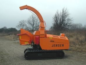 A141+Jensen+tracked+wood+chipper