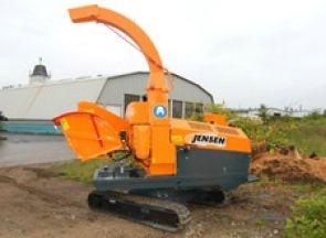 A-231+Jensen+Wood+chipper